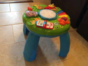 Leap Frog Annimal Adventure Learning Table