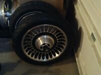 """Harley Davidson knuckles. 17"""" front. 16"""" rear 09 and newer. $500"""