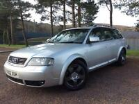 Audi allroad 2.5TDI 4x4 auto 2002MY quattro Cheap estate car ideal for towing