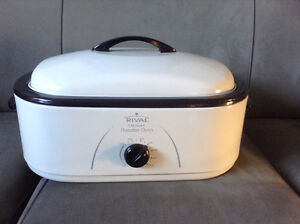 Rival 18 Quart Roaster Oven With Buffet Server