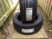 2 Bridgestone 225/45/17 91W RFT RE050A