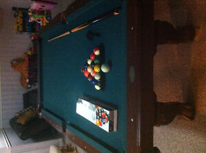 billiard table 6'x3'