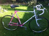"Retro Raleigh mercury road bike 23"" frame"