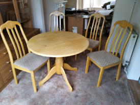 Solid dining table only no chairs