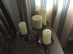Partylite Leaf Viking candle holder