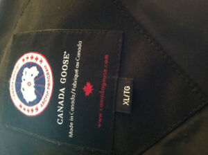Just in time for the Holidays , men's black Goose Jacket ,.