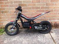 Child's motorbike oset trials bike 12.5