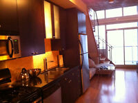 2 STOREY 1 bdrm @ DNA - LIBERTY VILLAGE furnished park/utils/net