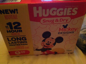 Huggies size 6, box of 66.. $20 firm. West Windsor