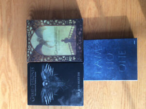 GAME OF THRONES DVDS andBLU RAY