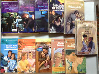 English Harlequin romance novels