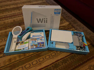 Nintendo wii sport with 2 games