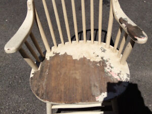 Solid Captains Chair
