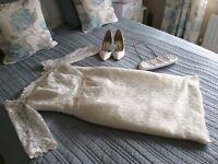 Sassi Holford Wedding Dress Size 10