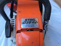 Stihl 038AV petrol chainsaw