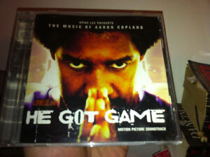 He got game music score soundtrack cd