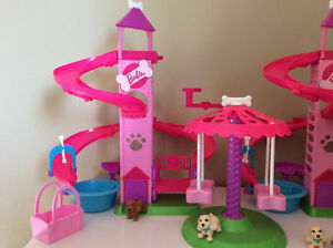 Barbie Spin and Play Pup sets