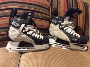Reebok and Bauer skates