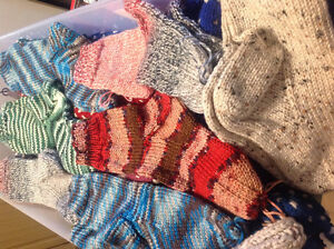 Hand knitted 100% wool items St. John's Newfoundland image 2