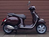 Piaggio Vespa GTS 125 Only 1991miles. Delivery Available *Credit & Debit Cards Accepted*