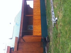 large efficient post and beam house with 160 acres for sale/rent Prince George British Columbia image 4