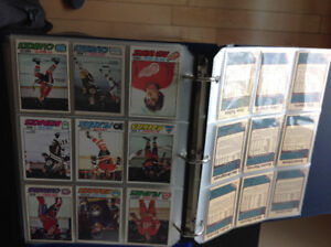 Cartes de hockey 250 de 80-81 et 150 de 77-78 excellente conditi