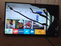 Faulty 48 inch smart tv