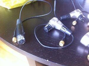 xlr wireless Sennheiser connectors Gatineau Ottawa / Gatineau Area image 3
