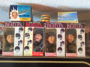 THE BEATLES 1964 REMCO DOLLS SET IN REPRO BOXES...N.MINT