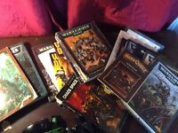 Games workshop warhammer 40k and fantasy books