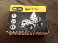 Metal Construction Quad Car