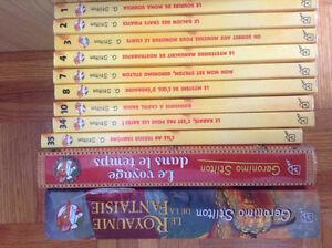 9 petits livres et 2 gros livres Geronimo Stilton - Vente rapide