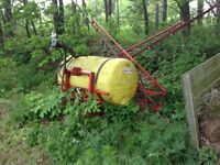For sale used agricultural sprayer .