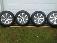 Mags + Winter tires for BMW / Mags + pneus d'hiver pour BMW
