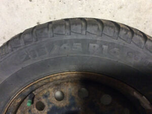 winter tires with rims - 215/65R16