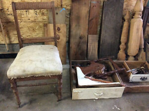 Antique  rustic wood and more for your art progecket