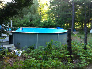 16'FT Above ground pool