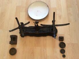 Antique C H Crane of Wolverhampton scales