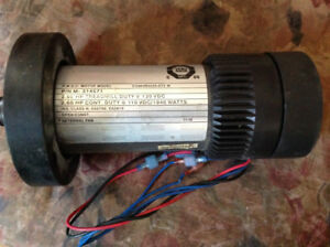 TREADMILL MOTOR 2.8 HP 130 VDC- GOOD WORKING ORDER