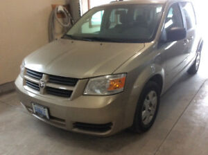 2008 Dodge Caravan with Rear Wheelchair Access