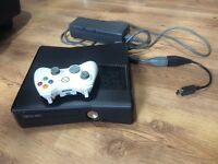 Xbox 360 slim 24GB HDD with wireless Controller