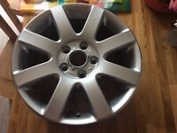 Genuine VW alloy wheel 8 arm / spoke refurbished