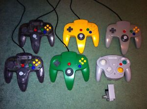 Nintendo 64 and Gamecube Controllers
