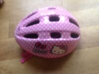 Girls Bike helmet Hello Kitty size s age 4-6