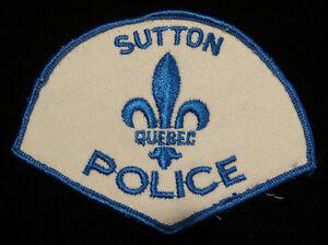 écusson de police / badge / Sutton
