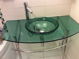 Sink surround and stand