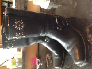 Frye. Leather boots