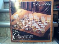 Drinking Checker Board Game