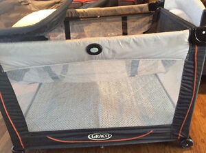 Graco Crib with changing table