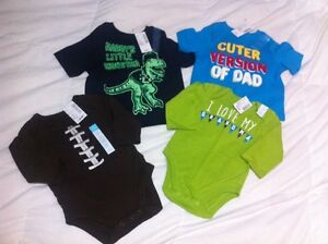 Baby boys children's place brand new with tags onesie/shirt lot Windsor Region Ontario image 1